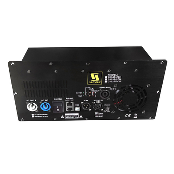 D155S-2CH 1800W 700W Class D Plate Amplifier for Active Speaker