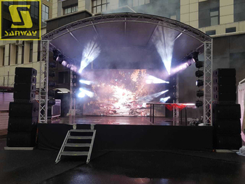 Sanway Audio Vera20 Line Array Brings Enchanting Sound to the Christmas Eve's Party in Russia