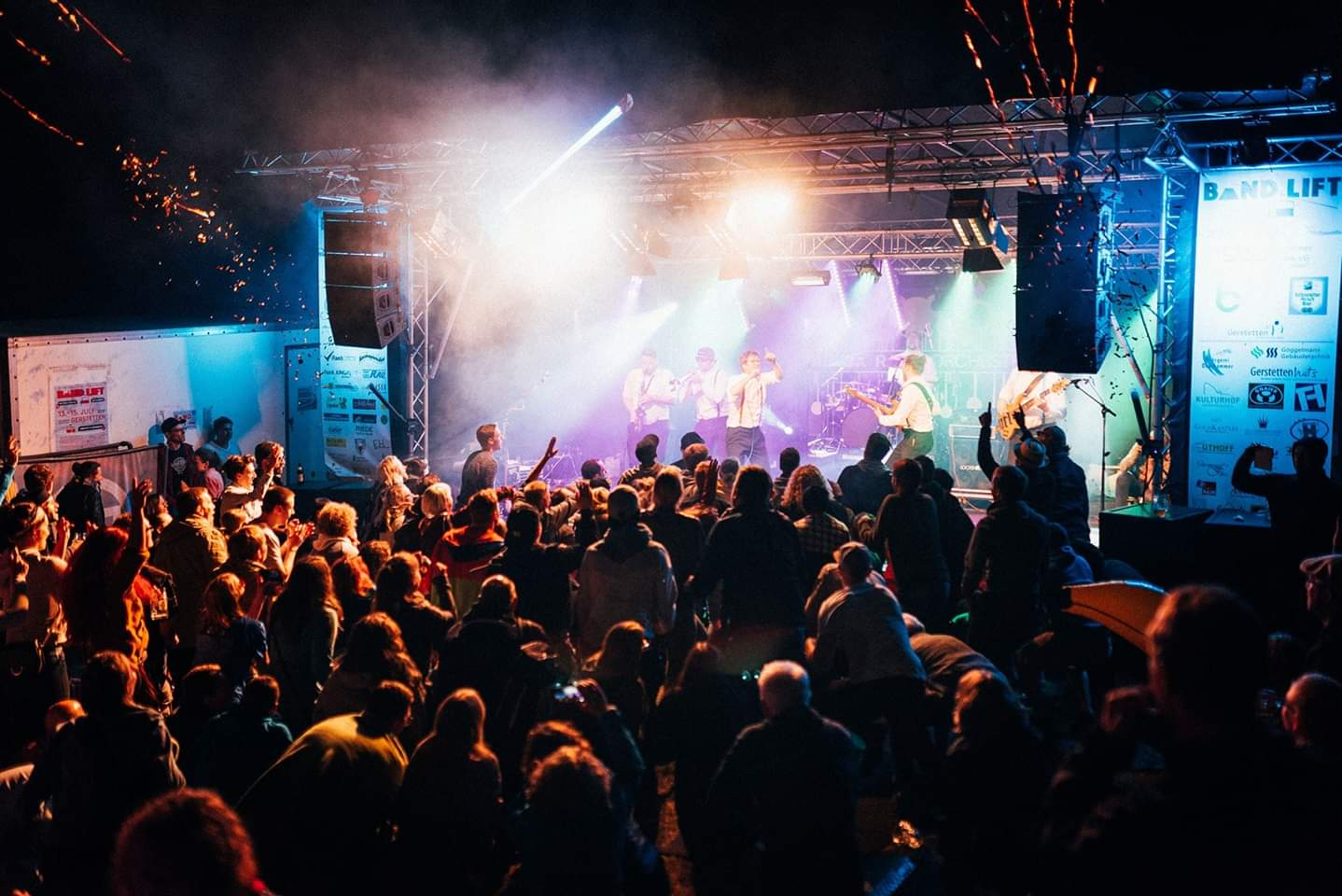 Q1 and Q-SUB Pro Audio System Light Up the Bandlift Music Festival 2018