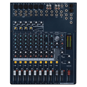 MG124C/CX Karaoke Echo Mixer