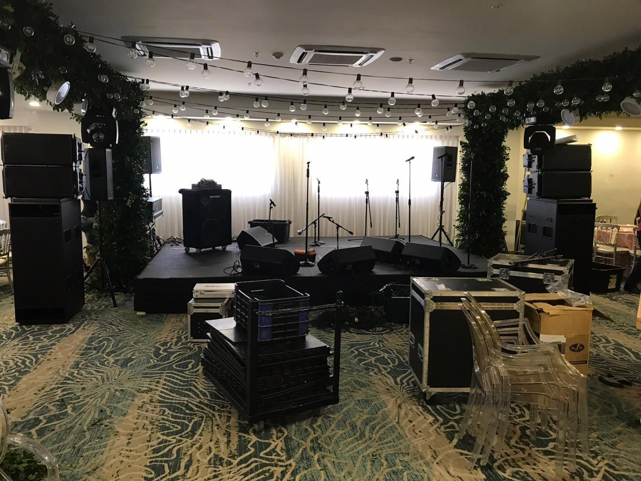 Sanway GEO S1210 Line Array and RS18 Subwoofer Supplied the 500 People Event