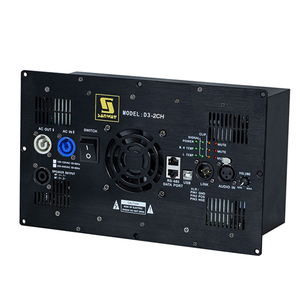 D3-2CH 1800W+1800W 2 Channel Class D Amplifier Module with DSP